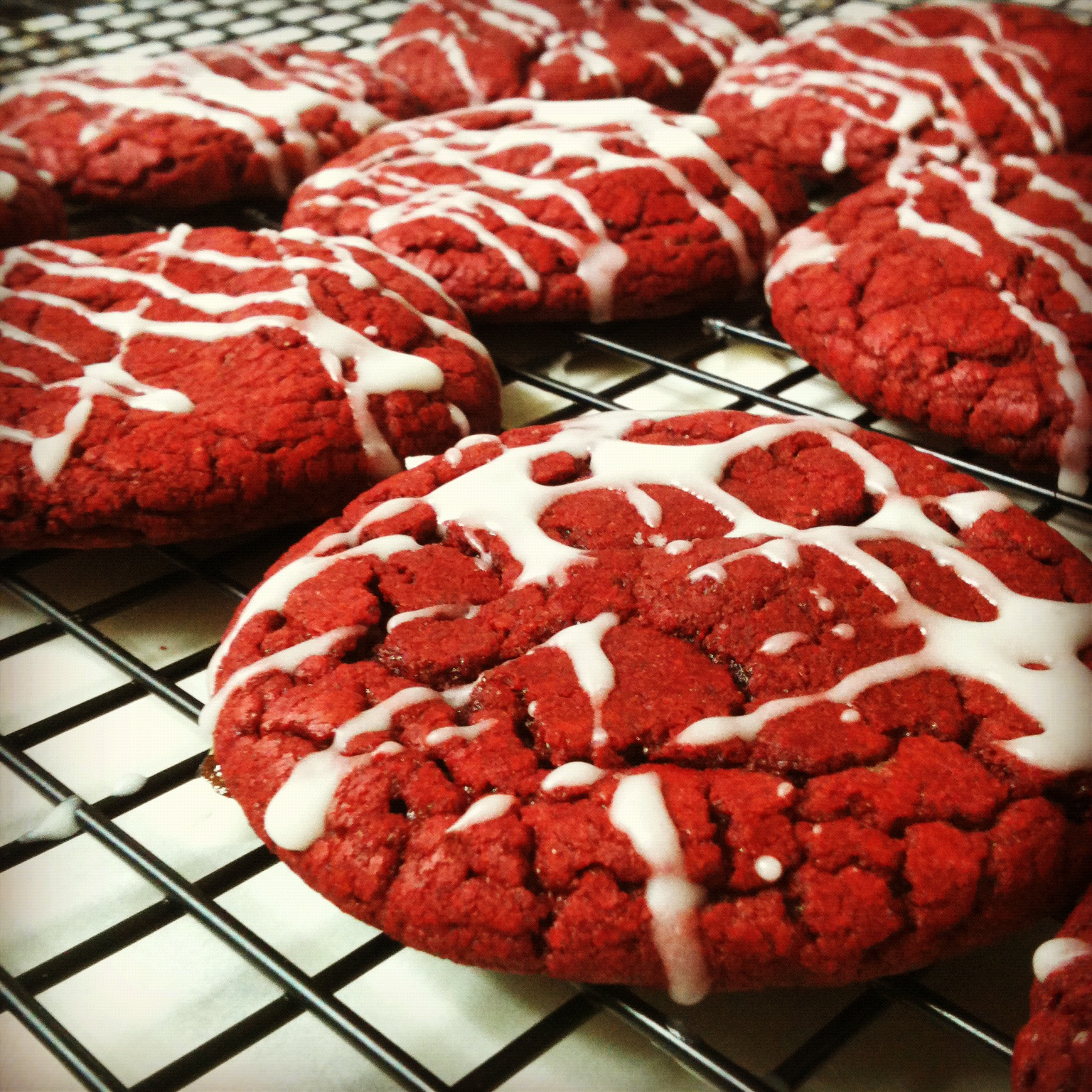 Red Velvet Cheesecake Cookies Recipes — Dishmaps