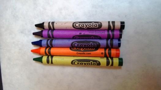 new crayons